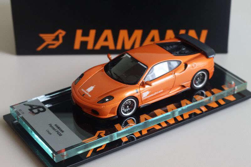 bilstall AB 1  43 - Ferrari F430 Hamann orange AB144