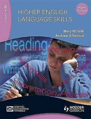 English Language Skills for Higher English by Mary M. Firth, Andrew G....