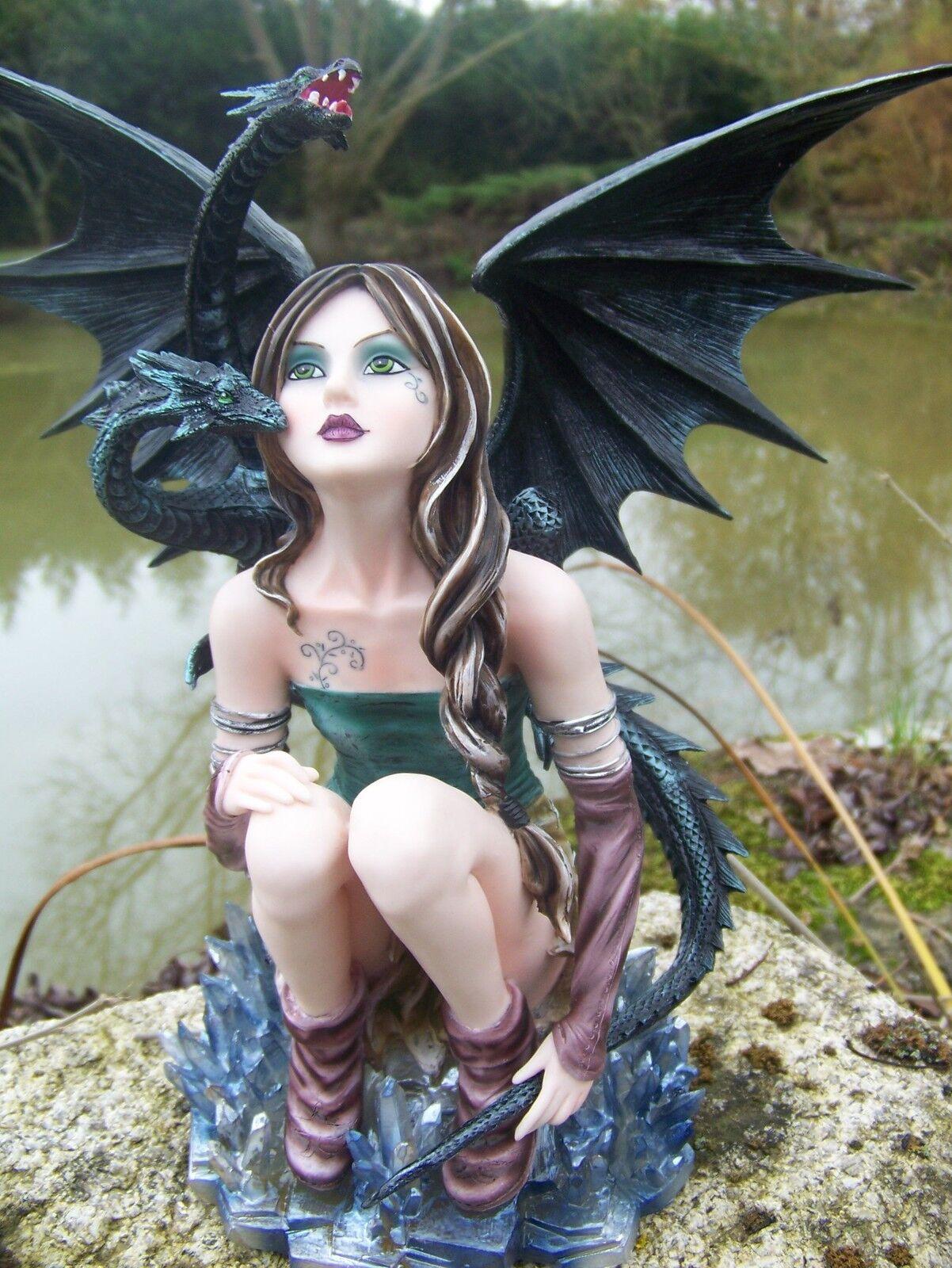 15246 grand statuette figurine fee fairy heroic fantasy  gm dragon fees  nous prenons les clients comme notre dieu