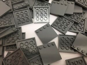 Image is loading LEGO-6179-NEW-Dark-Grey-4x4-Modified-Plate-