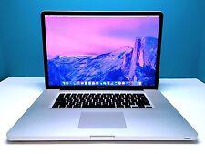 Apple MacBook Pro 17 inch OSX 2016 / 1 Year Warranty / Core i5 2.53Ghz / 2TB HD!