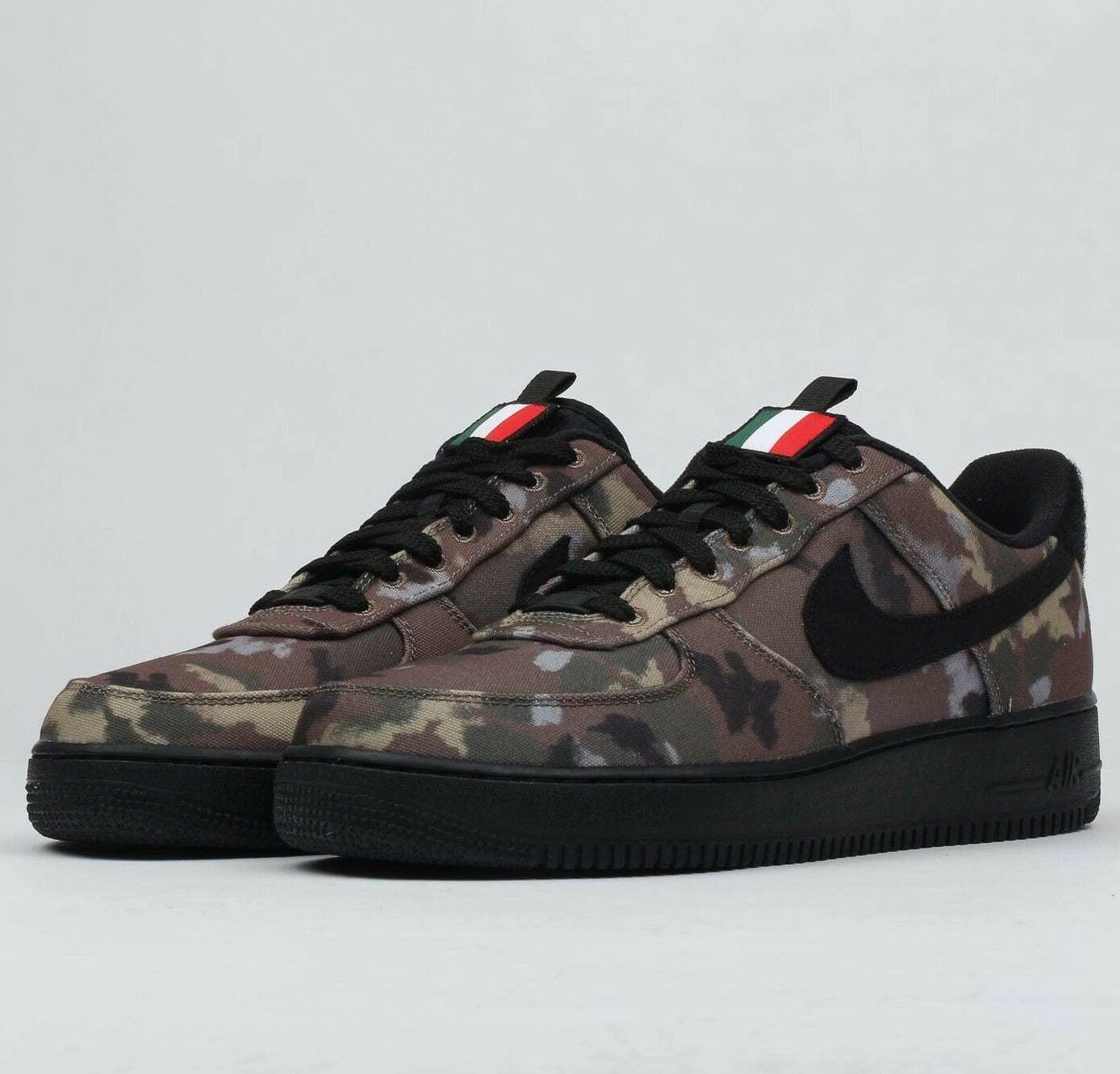 Nike Air Force 1 '07 Low  Camo Pack AV7012-200 AF1 Mens Ale Brown shoes NIB