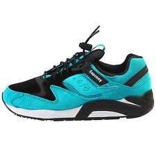 Saucony Grid 9000 Mens S70196-4 Bungee Pack Green Black Running Shoes Size 10