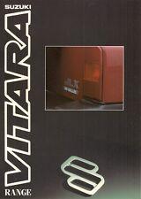 Suzuki Vitara 1992-93 UK Market Sales Brochure JLX SE Estate 3-dr 5-dr Soft Top