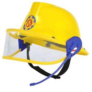 Fireman-Helmet-with-Headset-Fireman-Sam-Kids-Helmet-with-Microphone