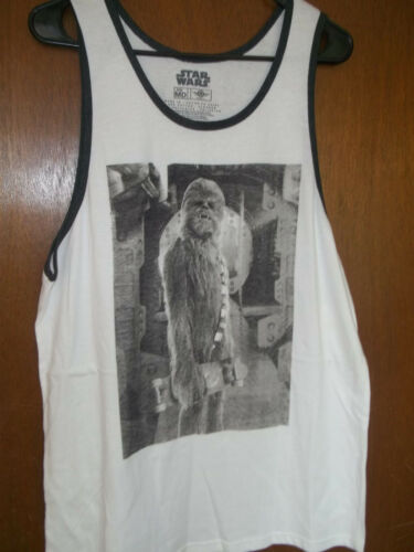 Star Wars Tank top Chewbacca with skateboard new  S 2XL NWT