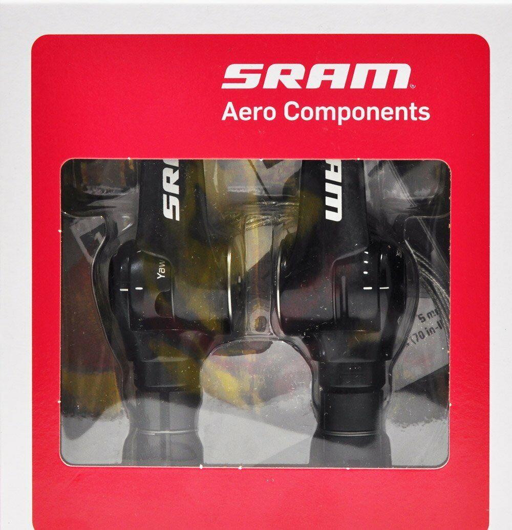 SRAM SL1150 Aero R2C TT Tri Shifter Set, 2 x 11 Spd, Red 22 Force 22 Rival 22