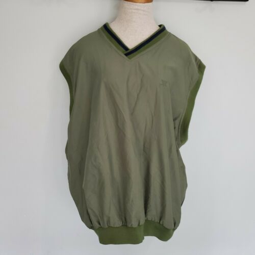 Catalina Golf Windbreaker Vest Sage Green Men's XL