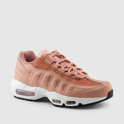 Nike Womens Air Max 95 Rust Pink Sneaker Shoes 307960 606 New | eBay