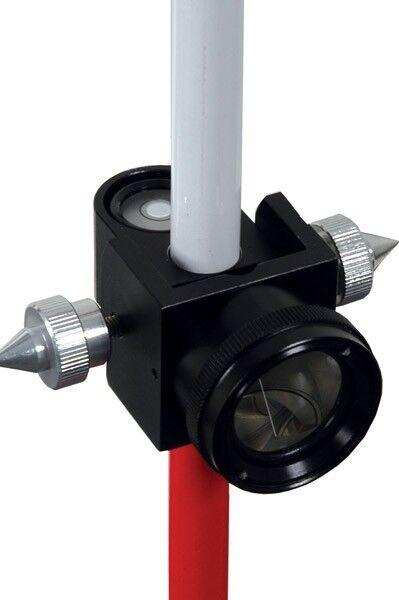 AdirPro Pin Pole with 25 mm Mini Prism System For Topcon Leica Sokkia Seco