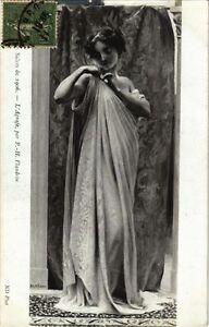 Cpa Salon De 1906 P.h. Flandrin - L'agrafe (217577) Otixapba-08002859-640043734