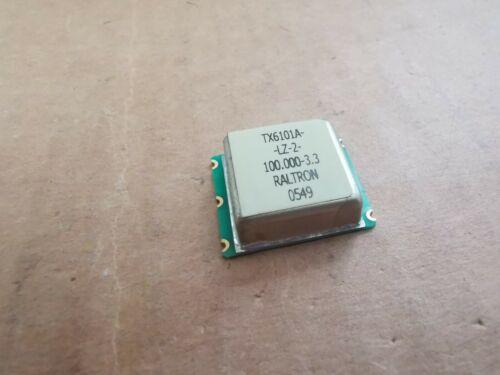 Oscilador con compensación de temperatura 100MHz raltron TCO 100.000MHz