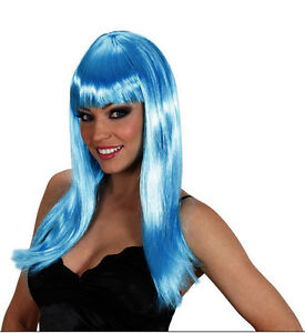 Sexy blue wig