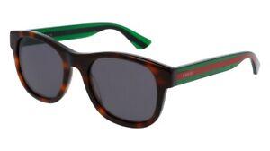 NEW-Gucci-Urban-GG-0003S-Sunglasses-003-Havana-100-AUTHENTIC
