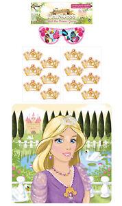 Stick-le-diademe-sur-la-Princesse-jeu-Parti-Childrens-Pin-Tail-activite-Crown