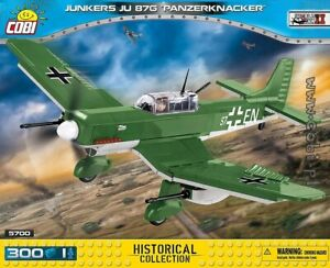 Junkers JU 87G  /'Panzerknacker/' WWII Kit COBI 5700-300 brick dive bomber