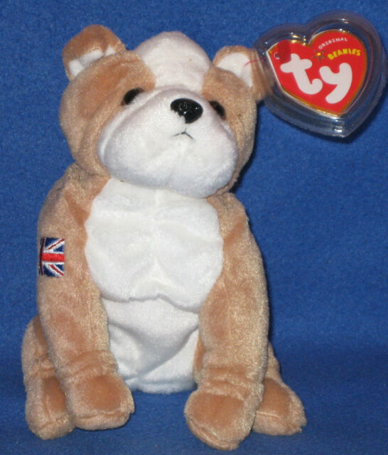 2d8cf7f1965 Ty 46050 Beanie Baby Fearless The English Bulldog UK for sale online ...