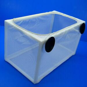 "Aquarium Separation Box Net 9.4""x2.2""for Sick Injured Aggressive Born Fish Tank"