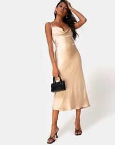 MOTEL-ROCKS-Palasha-Dress-in-Satin-Ivory-Extra-Small-XS-MR57