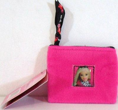 Bello Barbie-borsellino In Pile Con Apertura A Lampo-cm 8,5x8,5