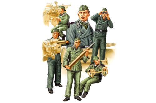 5 Figuren HOBBYBOSS® 84407 WWII German SPG Crew Vol.2 in 1:35