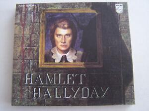 2-CD-ALBUM-DE-JOHNNY-HALLYDAY-HAMLET-FICHE-LIVRET-POSTER-COMME-NEUF