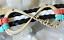 Bracelet-cuir-argent-breloque-multi-rangs-180x20x4mm-reglable-18-21cm miniature 2