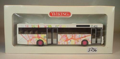 Wiking 1//87 nº 702 01 mercedes benz o 405 autobuses munich OVP #3736