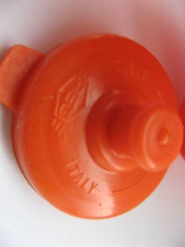 Trinkflasche VINTAGE REG 70//80iger Jahre 500 ml orange Bonanza made in italy NEU