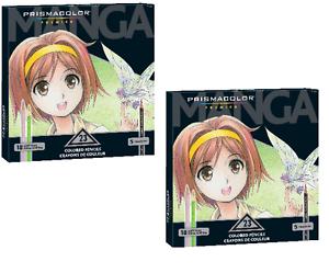 Prismacolor Premier Colored Pencils, Manga Colors, 23-Count 2 PACK ...