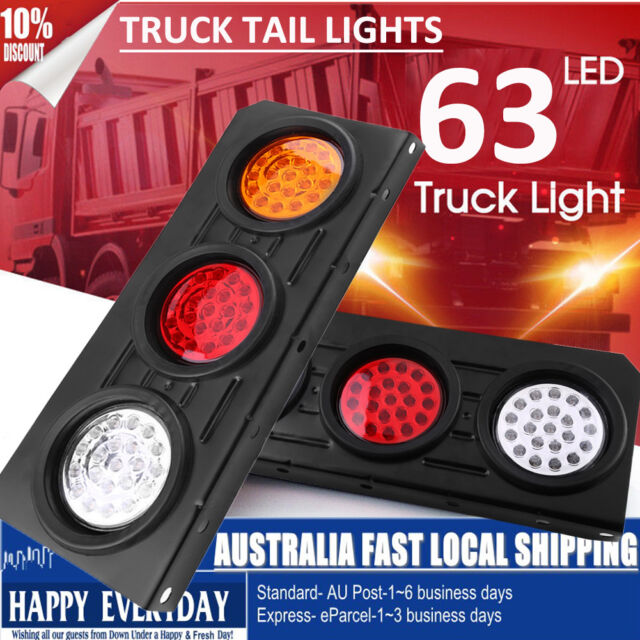 Truck Light System 12v 36 Led Rear Trailer Tail Lights Caravan Truck Boat Car Stop Reverse Safety Indicator Lights For Trailer Truck Taillights 1x Discounts Sale Truck Parts