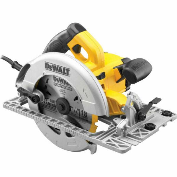 DeWalt DWE576K 240v Precision Circular Saw 190mm 1600w Track Plunge Rail Base