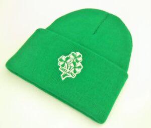 6928bec2a Details about Ireland Rugby Hats / Memorabilia Bronx / Beanie Style Irish  Green Hat