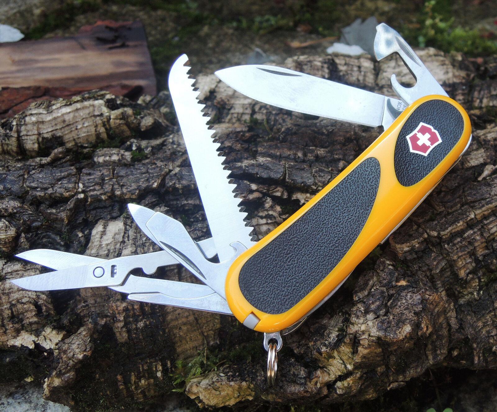 Victorinox EVO GRIP Gelb Schweizer Messer Taschenmesser 15 Funktionen