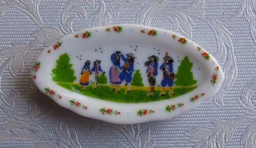Casa De Muñecas Miniaturas placa de escena folk tradicional de Francia