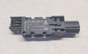 4B0959643D Origin Audi A3 8P Crashsensor Sensor Steuergerät Crach Sensor