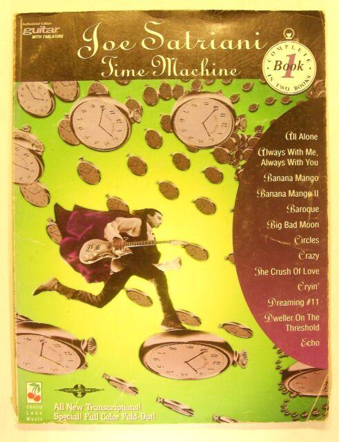 Joe Satriani - Time Machine Bk. 1 (1994, Paperback)