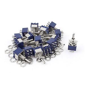 20Pcs-AC-125V-6A-ON-OFF-ON-DPDT-Locking-Mini-Toggle-Switch-Blue-6mm-K4G4