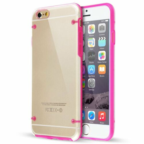 IPhone 6 6S Puls Ultra Thin Grow In Dark Crystal Case Cover Pink