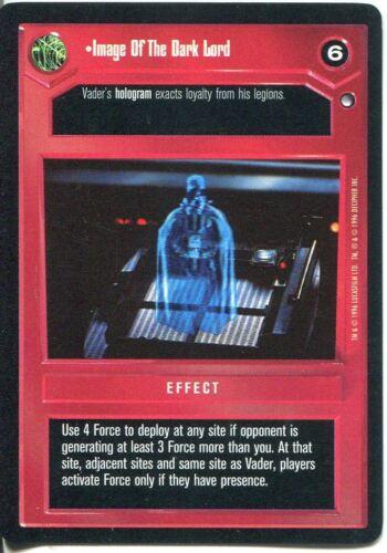 Star Wars CCG Hoth Black Border Image Of The Dark Lord