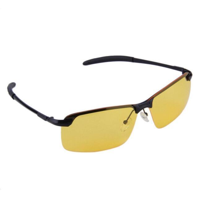 7e64f2e431 Men Anti-Glare TAC Driving Lens UV400 Sunglasses Night Vision Polarized  Glasses