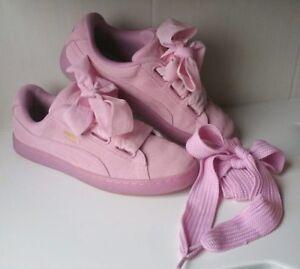 PUMA SUEDE HEART Reset Wn's Prism Pink 39 Sneaker Basket