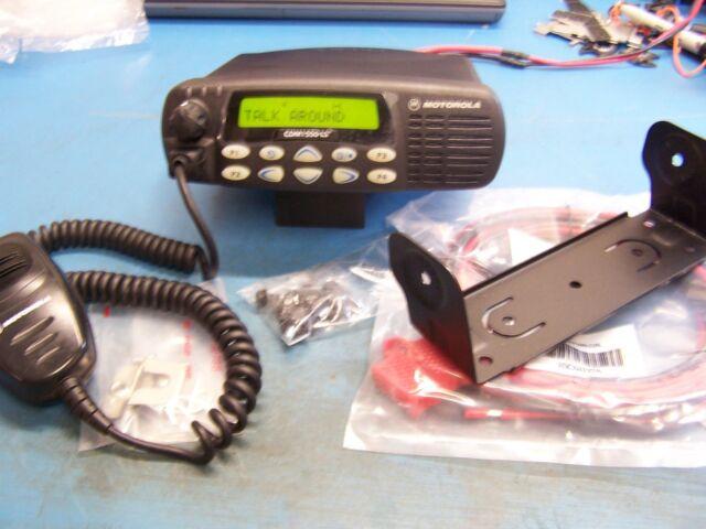 Motorola CDM1550 LS+ UHF 403-470MHz 40 Watt Mint Tested