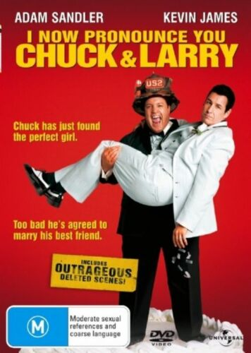 1 of 1 - I Now Pronounce You Chuck & Larry DVD NEW