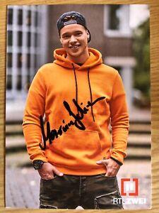 Marvin-Ak-Rtl-2-Krass-Ecole-Carte-Autographe-Original-Signe-2020