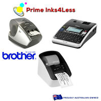 3x Brother Pt-1230pc Pc Connectable Thermal Label Printer For Tz Tapes