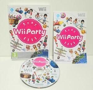 Wii-PARTY-Nintendo-Wii-Nuovo-di-zecca-card-Maniche-lo-stesso-giorno-di-spedizione-1st-Class-consegna