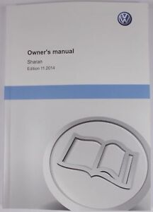 new genuine vw sharan 7n coupe owners manual handbook 11 2014 rh ebay ie vw passat owners manual 2015 vw passat owners manual 2015