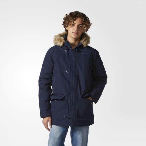 Adidas Herren Neo Glocke Faser Parka Winter Mantel Größen S-2XL
