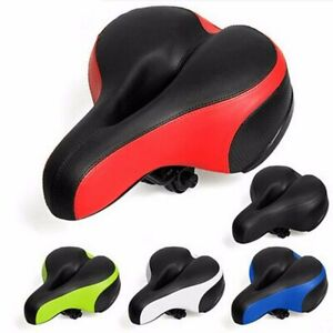 Reflective-Wide-Big-Bum-Bike-Bicycle-Shockproof-Gel-Comfort-Saddle-Seat-Cushion